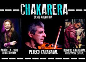 Peteco Carabajal y su 'Chakarera' en Madrid, Valencia y Barcelona