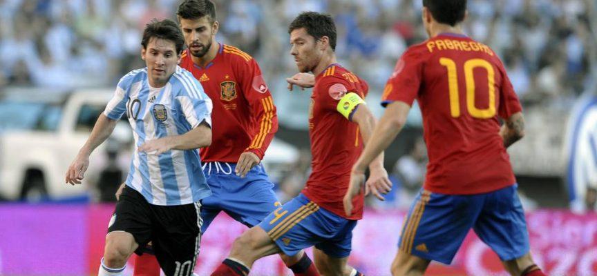 Italia y España medirán el nivel de Argentina