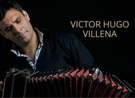 Victor Villena dará el 26 de octubre un recital de bandoneón solo en la sala Toccata de Madrid.