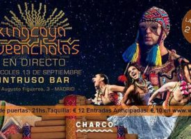 King Coya trae su cumbia electrónica a Madrid