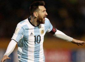 El himno de Messi