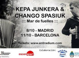 Spasiuk, Junkera y un océano de acordeones