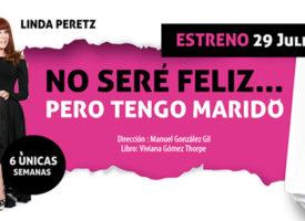 Linda Peretz viaja a Madrid con 'No seré feliz pero tengo marido'