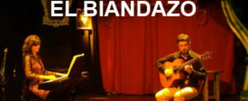 El Biandazo, dúo instrumental de La Plata, cierra su primera gira por España.