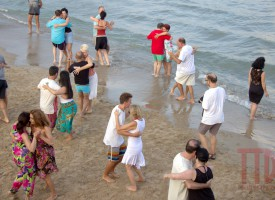 El hechizo del tango y del Mediterráneo