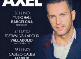 Axel, con la mirada puesta en España