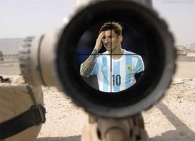 La absurda caza de Messi