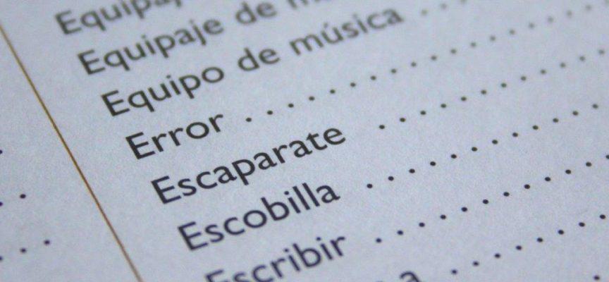 Destrozando el idioma castellano