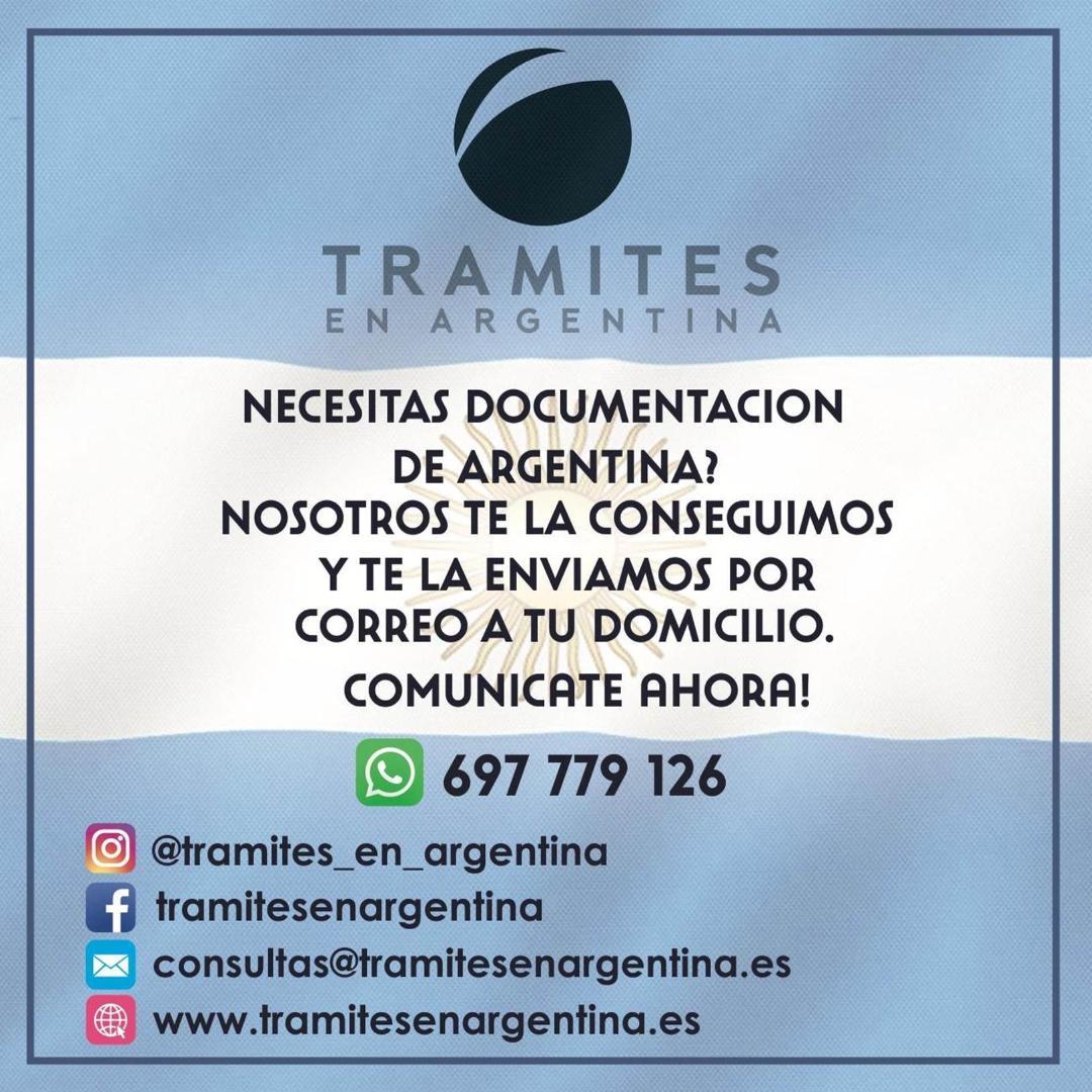 Tramites en Argentina